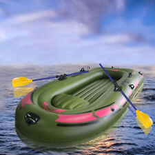 PVC Inflatable Boat Rubber Boat for River Stream Lake Fishing 4 Person Sport Pro