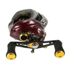 17+1 Ball Bearings Steel Left/Right Hand Bait Fishing Reel Gear Ratio Red T3J4