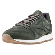 Reebok Classic Leather Ripple Wp Mens Trainers Dark Green New Shoes
