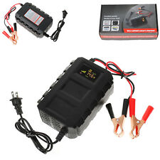 Intelligent Battery Charger 12V 20A Automobile Lead Acid Car Motorcycle US Plug