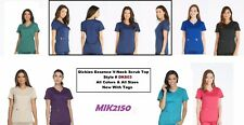 Dickies Scrubs Essence Women V Neck Top  DK803 Choose Color and Sizes - NWT