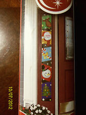 Brewster Home Fashions Holiday Window Cling-Side Light-Christmas Scenes-12 X 72