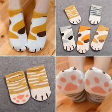 Lady Girls Summer Winter Cartoon Cute Cats Paw Kitty Claws Ankle Short Socks BE