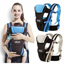 Newborn Baby Sling Carrier Backpack pouch Adjustable Soft Nursing Front Baby New
