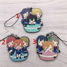 TT531 Hot Anime Lovelive Love Live! rubber Keychain Key Ring Rare Straps Cosplay