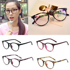 Unisex Vintage Retro Eye Glasses Anti Radiation Clear Lens Mens Womens Eyewear
