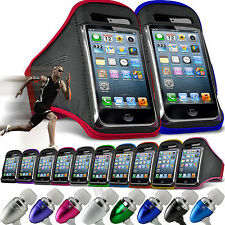 Quality Gym Running Sports Workout Armband Phone Cover✔In Ear Headset✔Apple