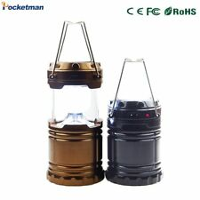 Solar Camping Lantern Rechargeable Hand Lamp Emergency lights for Hiking Camping