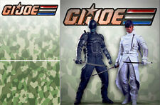 POSTER BACKDROP/SET~G.I. JOE~LOGO FOR 1/6 FIGURE SNAKE EYES MMS199 MMS193 MMS192