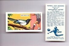 1959 Sweetules Football Club Nicknames cigarette card - VARIOUS