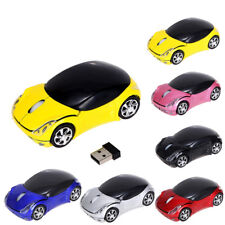 2.4GHz 1200DPI Wireless Carton CAR Optical Mouse USB Scroll Mice For Laptop PC