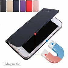 Magnetic Luxury Leather Card Wallet Flip Case Cover for iPhone X 8 7 6 6s Plus