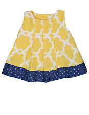 NWT PERSNICKETY ALLISON TOP 3 6 12 Months Yellow Layette Shirt Dress Boutique