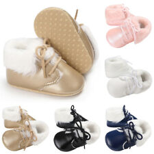 Newborn Baby Boy Girl Soft Sole Boots Infant Toddler Walking Crib Shoes Popular