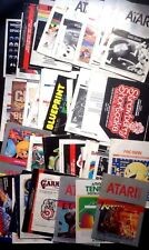 Atari 2600 Instruction MANUAL booklets ONLY - choose booklet from list - no game