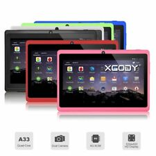 7'' Android 4.4 Quad Core Tablet PC 8GB WiFi Bluetooth HD Touch Screen XGODY NEW