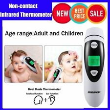 LCD Digital Non-contact IR Infrared Thermometer baby Forehead Temperature MetLN