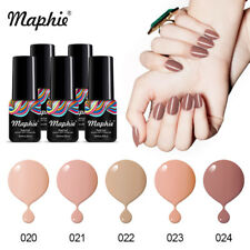 Maphie 5Pcs/lot  Nail Gel Polish Soak-off UV LED Manicure DIY Salon Varnish 6ml