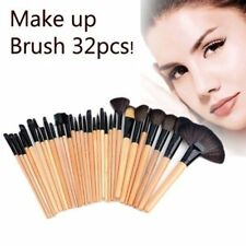 32pcs Professional Soft Cosmetic Eyebrow Shadow Makeup Brush Tool Set Kit + Bag