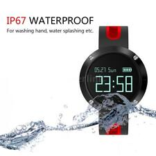 """Smart Watch 0.95""""OLED Touch Screen BT 4.0 Blood Pressure/Heart Rate Monitor W3V9"""