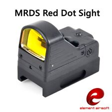 Element Airsoft Red Dot Sight Spotting For Aiming MRDS Picatinny Rail Mount