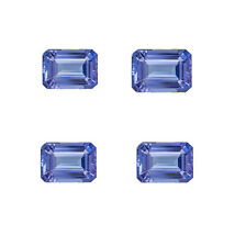 Natural Tanzanite Octagon Cut 3X5mm To 5X7mm Blue Color ( AA) Loose Gemstones