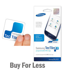 Samsung TecTiles 5-Pack Programmable  Communication Tags NFC Galaxy S4 *Choose*