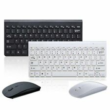 Wireless Bluetooth Slim Keyboard + Mouse For Apple iMac For Macbook iPhone