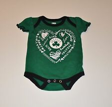 NWOT Boston Celtics Girls Infant Baby Bodysuit/Creeper Baby Shirt Jersey T-shirt