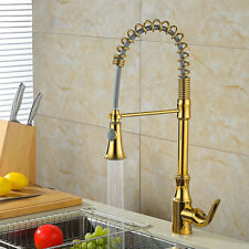 Modern Single Handle Dual Functions Spring Pullout Kitchen Mixer Tap Sink Faucet