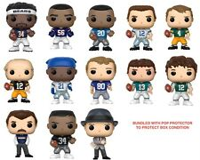 Funko Pop! NFL Legends NEW Bundled With Pop Protector *FREE SHIPPING*