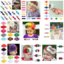 Girl Baby Headband Toddler Lace Bow Flower Infant Hair Band Accessories Lot