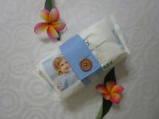 Nappy strap-Keeps nappies and wipes together-Blue-100% cotton or polycotton.