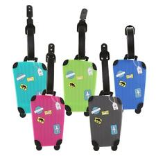 Travel Parts Luggage Tags Labels Address ID Name Suitcase Bag Baggage Secure