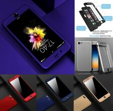 Hybrid 360 New Shockproof Case Tempered Glass Cover For Apple iPhone 5S SE 7 8 X