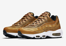 Nike Air Max 95 Premium QS Gold Womens US 11 Mens 9.5 brand new DS 814914-700