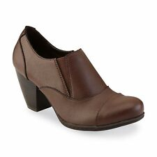 New Womens Jaclyn Smith Gill Casual Pump Style 40825 Brown 100u pr