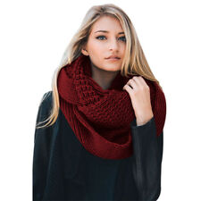 Women Cable Knit Chunky Scarf Winter Fashion Lady Scarves Acrylic High Quality