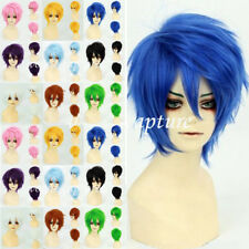 Unisex Halloween Cosplay Hair Wig Short Fashion Anime Party Fancy Style Full Wig