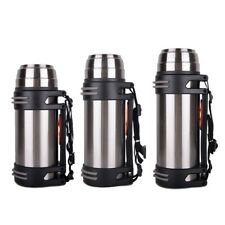 Outdoor Stainless Steel Portable Sport Bottle Travel Thermos Flask Double Walled