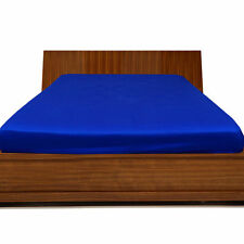 """1000TC Egyptian Cotton UpTo 30"""" Inch Deep Pocket Fitted Sheet All Size Egyp Blue"""