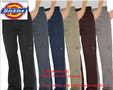 NEW Dickies Work Pants Loose Fit Double Knee Cell Pocket pant 85283 9 Colors