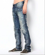 New Diesel Men's Darron Slim Tapered Jeans 0818Y 32X32 38X32  $300