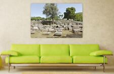 Canvas Poster Wall Art Print Decor Ruins Olympia Ancient Greece