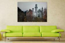 Canvas Poster Wall Art Print Decor Neuschwanstein Castle Romantic