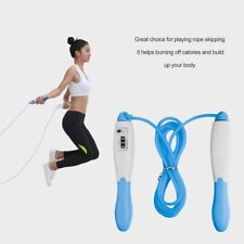 Skipping Rope Adjustable Electronic Counting Jump Rope Speed Fitness Exercise LN