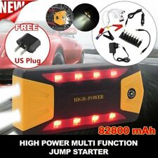 82800mAh Car Jump Starter 4 USB Power Bank Portable Pack Booster Battery OW