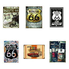 US Route 66 Highway Road Historic Metal Tin Sign Plaque Door Wall Decor Nimble