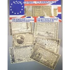 American Colonial Currency Replicas