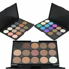 Facial Makeup Cosmetic Eyeshadow Palette 15 Colors Smoky Eyeshadow Palette SQ